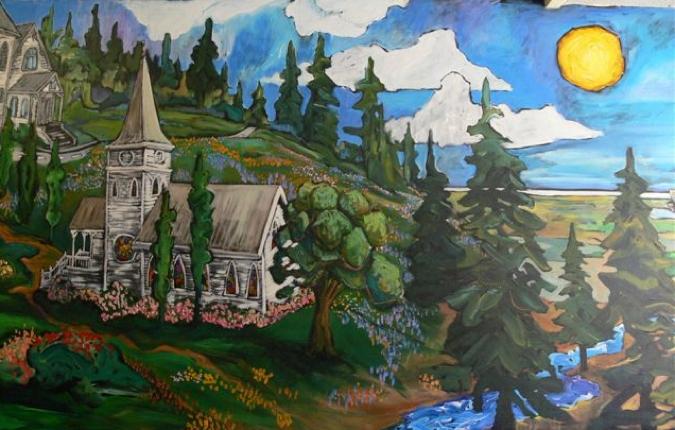 mural-church